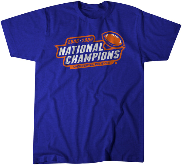 2006 and 2009 National Champs
