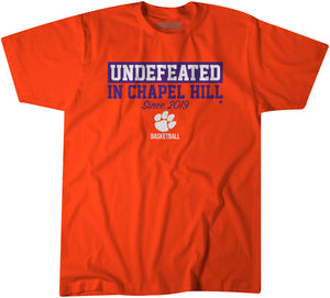 Undefeated In Chapel Hill
