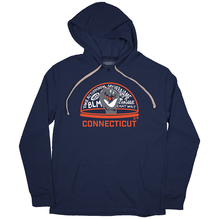 The WNBPA Speaks Hoodie: Connecticut