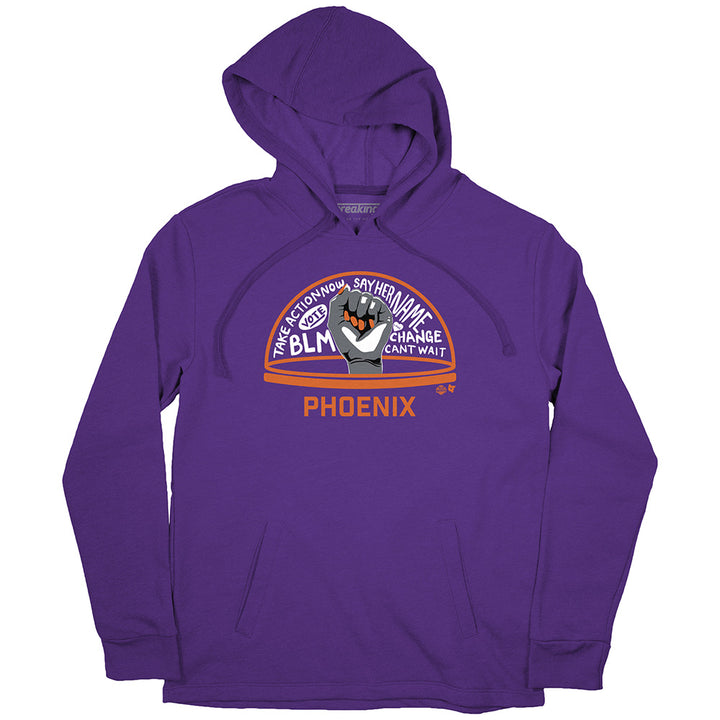 The WNBPA Speaks Hoodie: Phoenix