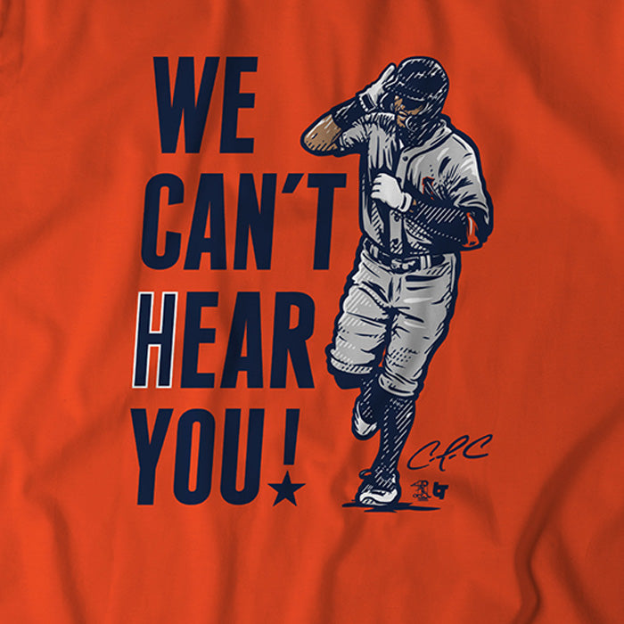 We Can't Hear You
