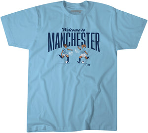 Welcome to Manchester (Blue)