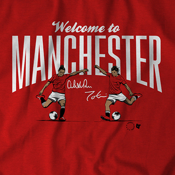 Welcome to Manchester (Red)