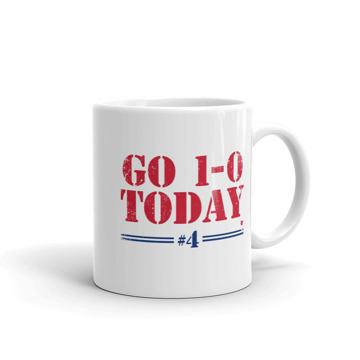 Go 1-0 Today Mug