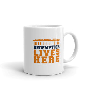 Redemption Lives Here Mug