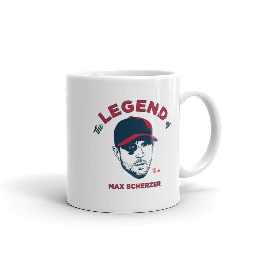 The Legend of Max Scherzer Mug