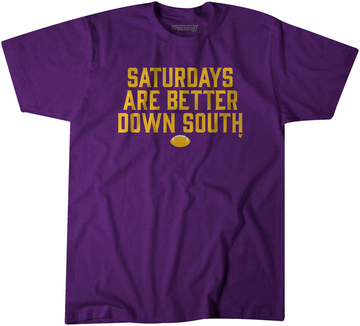 Saturdays Are Better Down South: Purple