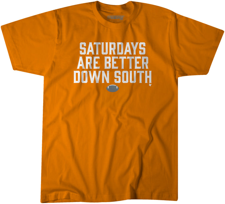 Saturdays Are Better Down South: Orange