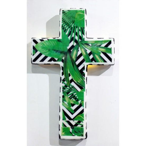 Plaster Cross Geo-Palm