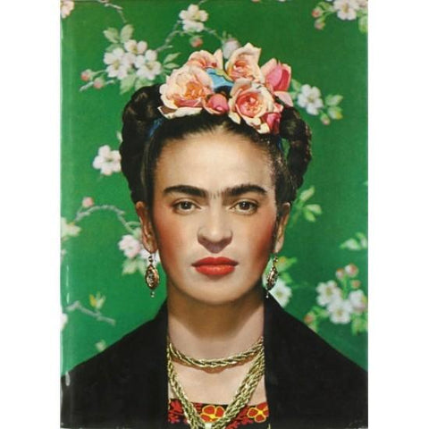 Resin 5x7 Print - Frida Green