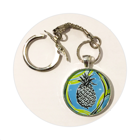 Key Ring - Pineapple
