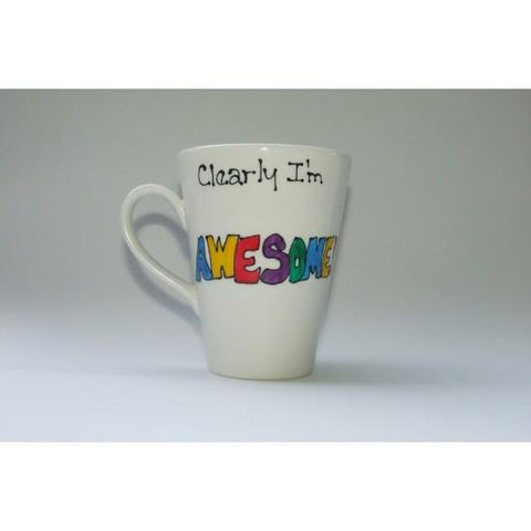 Clearly I'm Awesome Mug