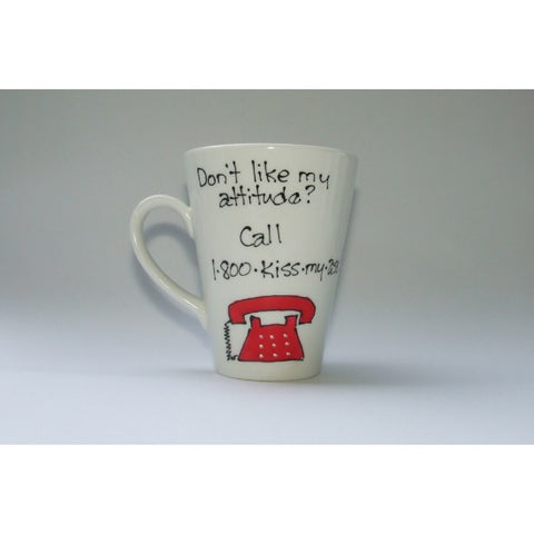 Funny Bone - Kiss My Ass Mug