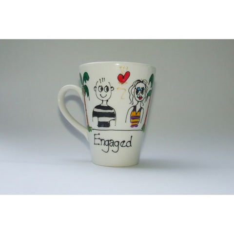 Engaged Couple Mug
