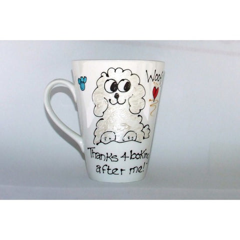 Thanks Me Poodle Mug