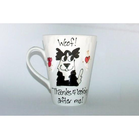 Thanks Me Collie Mug