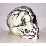 Resin Skull Harlequin .7.