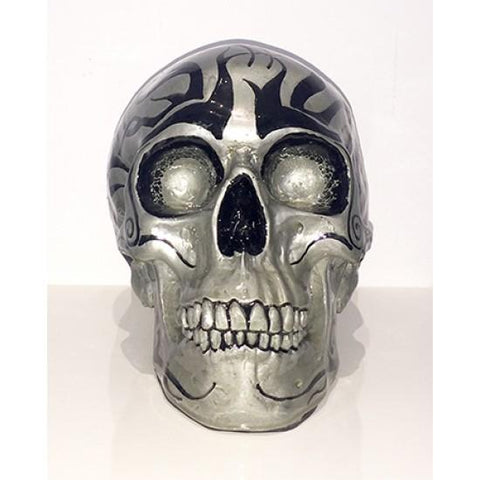 Resin Skull Miss Tattoo