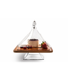 Square Wooden Cake Set Pyramid