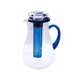 Vague Acrylic Water Jug 2L With Ice Tube, available in different colors