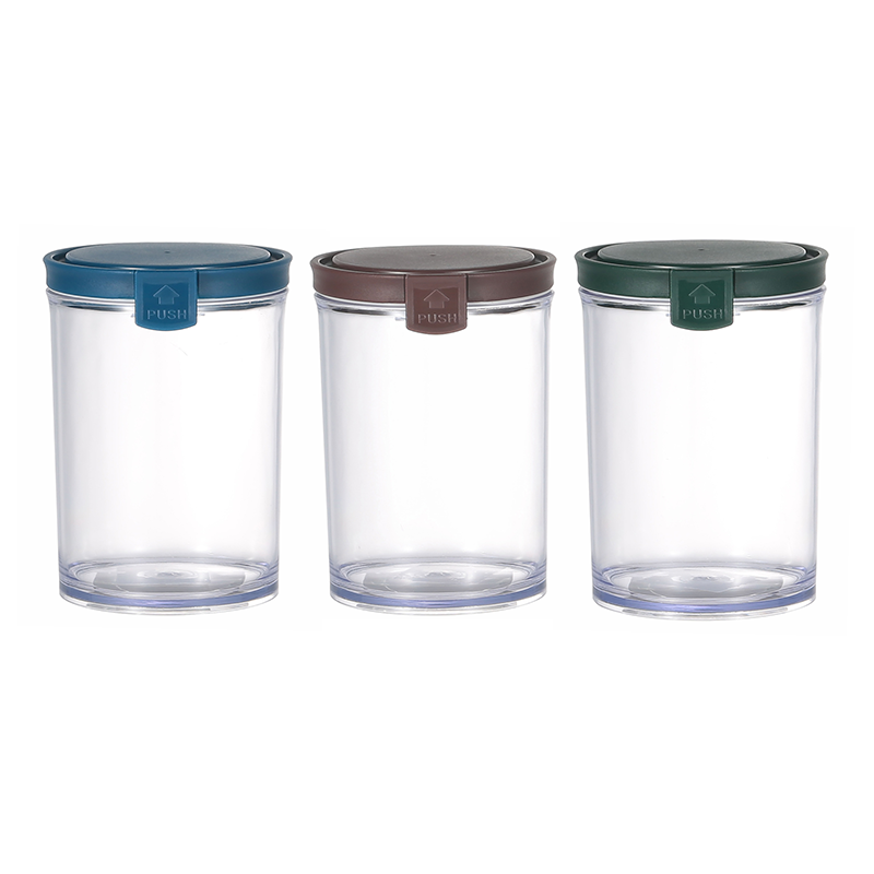 Round Airtight Food Container Jar 550 ml, available in 3 different colors