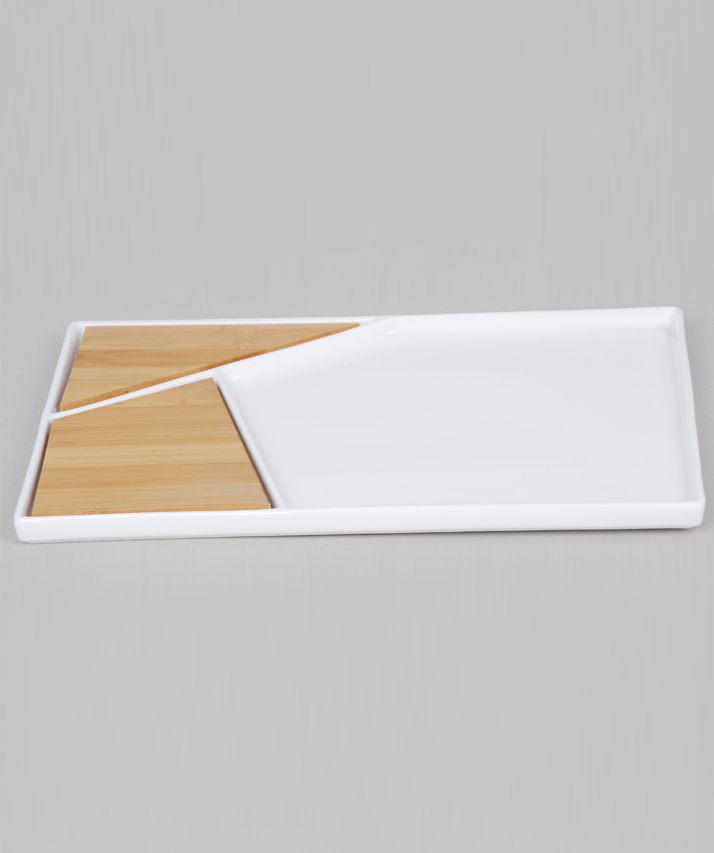 Porcelain Serving Plate & Board