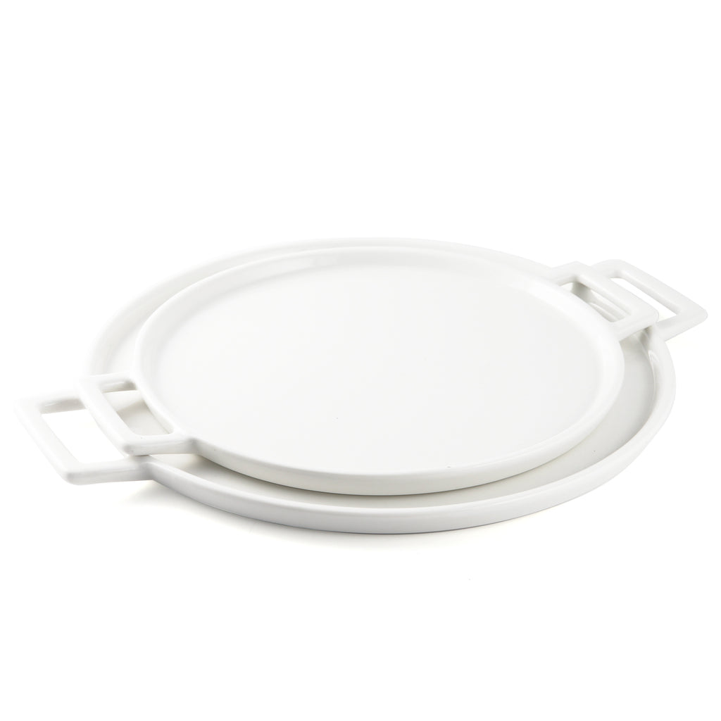 Porceletta Ivory Pizza Plate