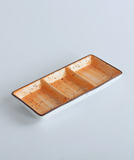 rectangular compartment dish