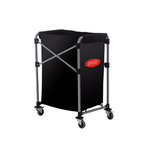 COLLAPSIBLE LAUNDRY CART, BLACK, 150L