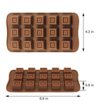 Silicon Chocolate Mold/2Pcs Set