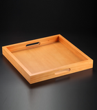 Wooden Tray square, available in 3 different colors