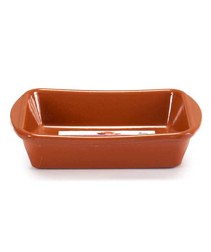 CLAY DEEP RECTANGULAR PLATE, available in 3 sizes, limited quantity