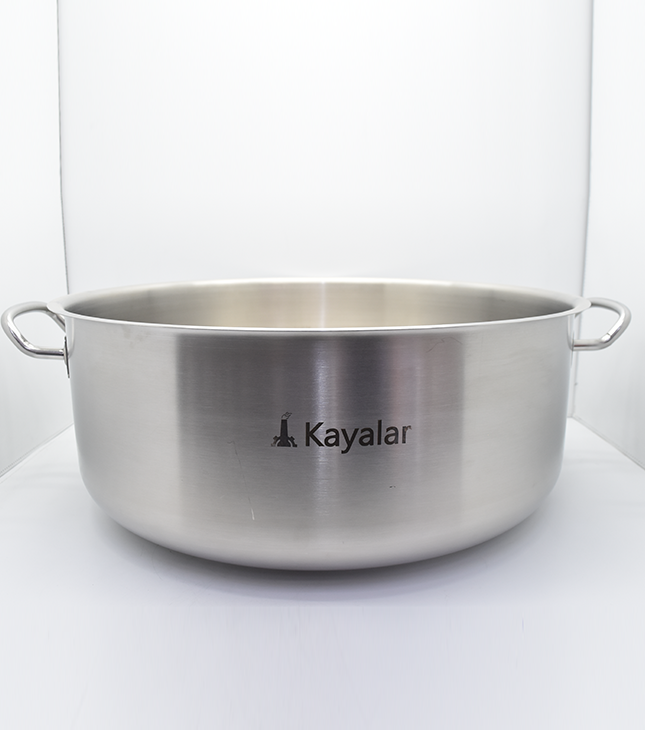 KAYALAR STEW POT MIDDLE WITHOUT LID, AVAILABLE IN DIFFERENT SIZES