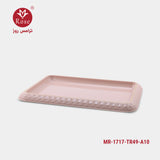 Rose Tray 49 cm, Pink color (1717)