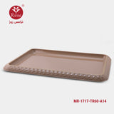 Rose Tray 60 cm, Brown color (1717)