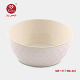 Rose Washing Bowl, White color (1717)
