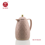Rose Vacuum Flask 0.65 L ,Pink color for tea (1717)