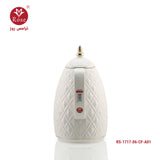 Rose Flask 0.65 L, white color for coffee (1717)
