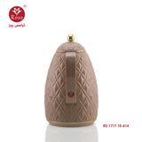 Vacuum Flask 1L, Brown color for tea (1717)