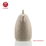 Rose Vacuum Flask 1L. Beige color for coffee (1717)