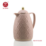 Rose Vacuum Flask 1.5L ,Pink color for tea (1717)