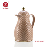 Rose Vacuum Flask 1L, Brown color for tea (1919)