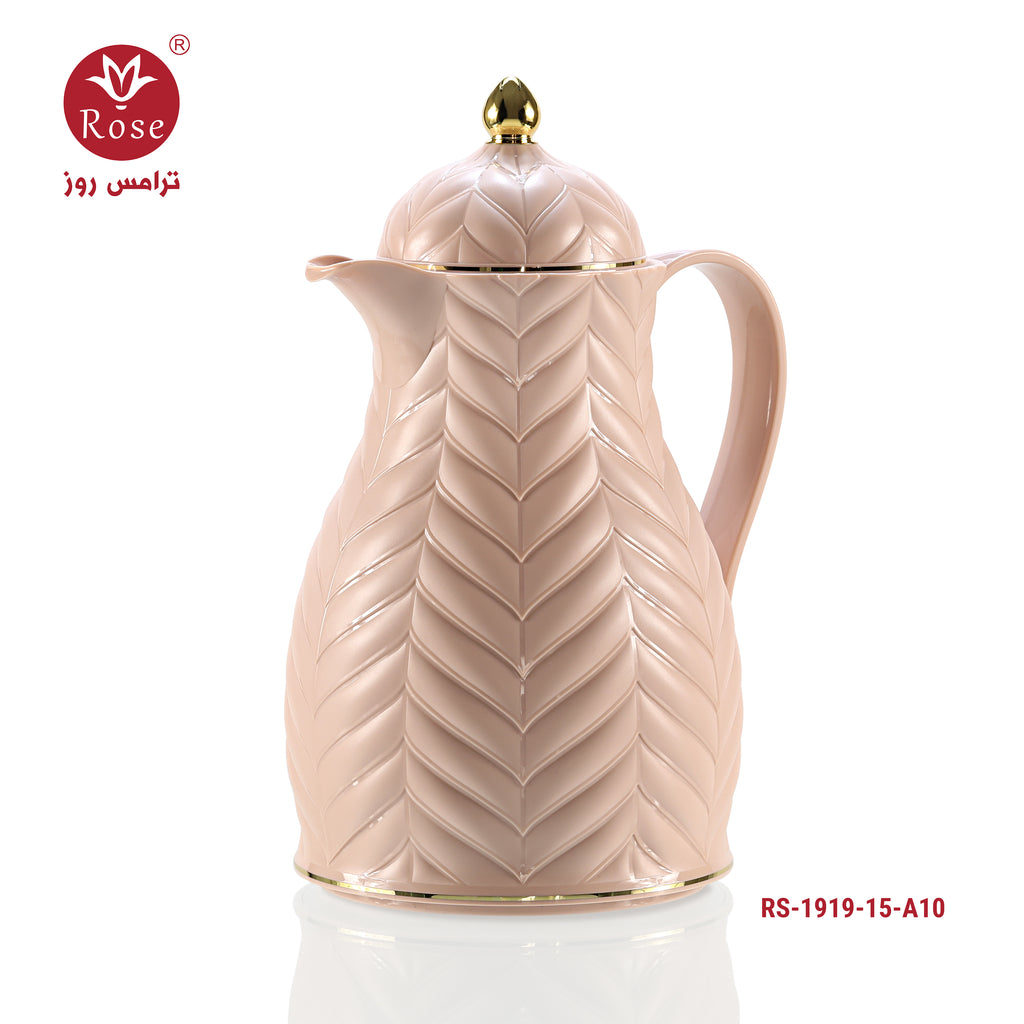 Vacuum Flask 1.5L, Pink color for tea (1919)