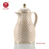 Rose Vacuum Flask 1.5L, Beige color for tea (1919)