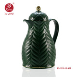 Rose Vacuum Flask 1.5L, Green color for tea (1919)