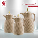 Rose  Vacuum Flask Beige color for coffee, available in 3 sizes (2020)