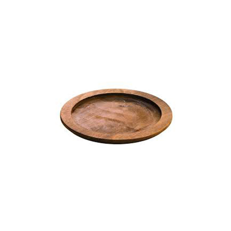 LODGE Round wood underliner walnut stain / U6RP - (fits L6OG3 only)