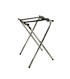 DELUXE TRAY STAND, CHROME PLATED