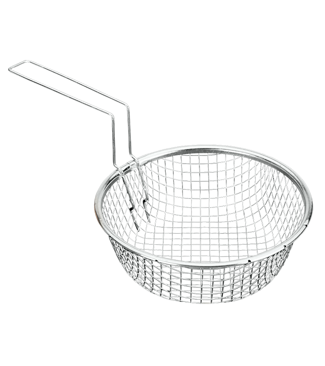 METALTEX  TINNED FRENCH FRY BASKET, available in 2 sizes