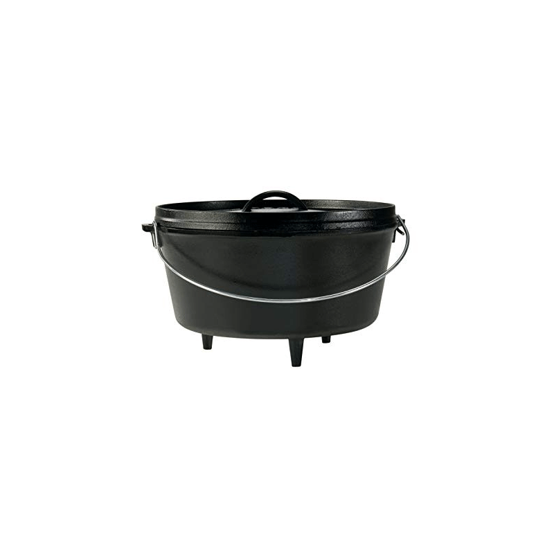 LODGE Deep Camp Dutch Oven 7.57 L / L12DCO3